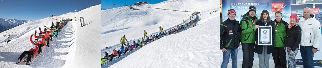 Guinness World Record für Wildkogel Arena